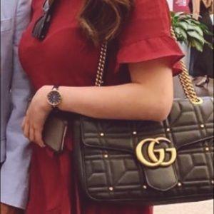 SOLD Authentic Gucci medium marmont bag